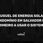 Aluguel energia solar