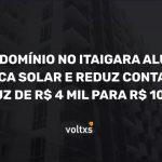 Energia solar condominio Itaigara